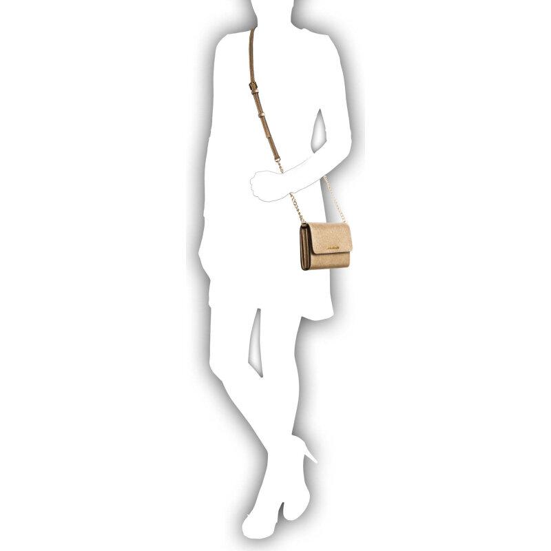 Jet Set Travel messenger bag Michael Kors gold