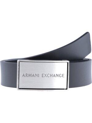 Armani Exchange Dwustronny pasek