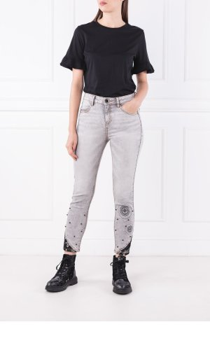 Desigual Jeansy Pearls | Skinny fit