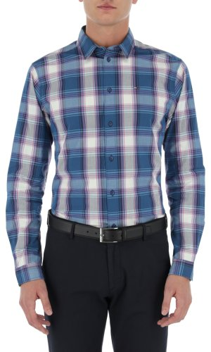 Tommy Jeans Koszula ESSENTIAL CHECK | Regular Fit