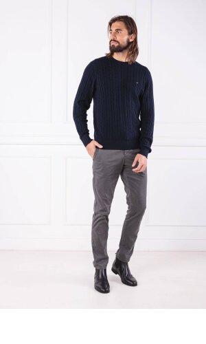Tommy Hilfiger Sweter CLASSIC COTTON BLEND | Regular Fit | z dodatkiem wełny