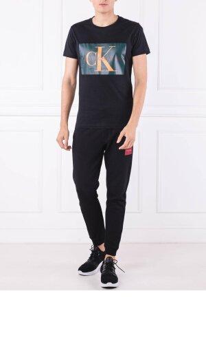 Calvin Klein Jeans T-shirt MONOGRAM BOX LOGO SL | Slim Fit