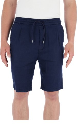 Boss Green Lniane szorty Keen-Shorts-W | Tapered