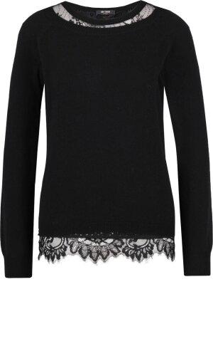 MYTWIN TWINSET Sweter + halka | Regular Fit | z dodatkiem wełny