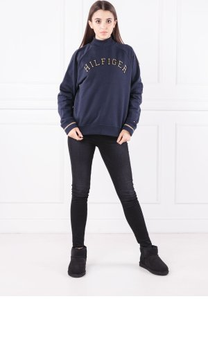 Tommy Hilfiger Sweatshirt MICA MOCK-NK | Loose fit
