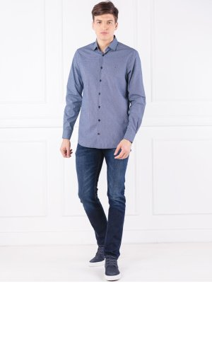 Tommy Hilfiger Tailored Koszula DOBBY CHECK CLASSIC   Slim Fit