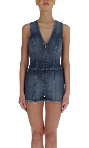 Guess Jeans Kombinezon Jennifer Lopez | Slim Fit | denim