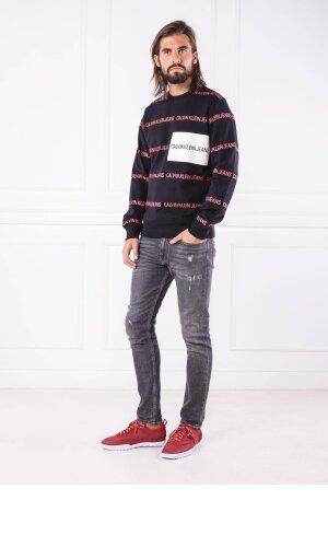 Calvin Klein Jeans Bluza ALL OVER INSTITUTION | Regular Fit