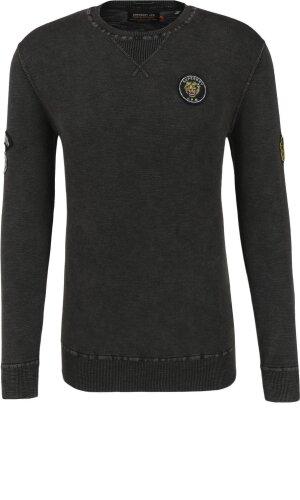 Superdry Sweatshirt garment dye L.A. badged crew | Regular Fit