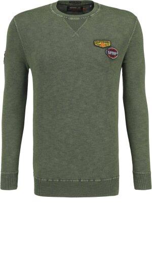 Superdry Sweatshirt garment dye L.A. badged | Regular Fit