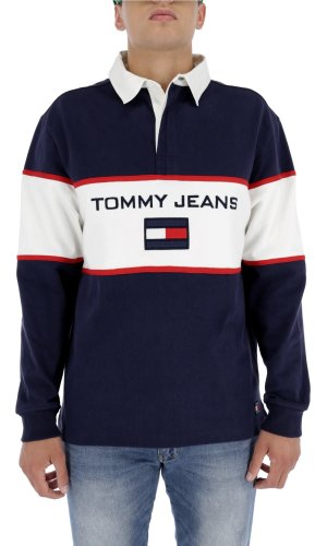 Tommy Jeans Bluza 90S LOGO RUGBY | Loose fit