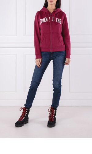 Tommy Jeans Sweatshirt TJW LOGO ZIP HOODIE   Regular Fit