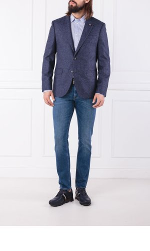 Tommy Hilfiger Tailored Wool blazer TWILL CLASSIC | Slim Fit | with addition of silk