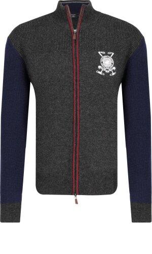 Hackett London Wełniany sweter | Regular Fit