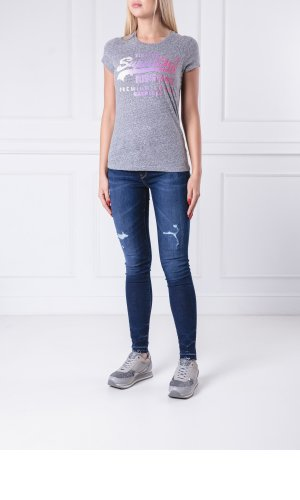 Superdry T-shirt PREMIUM GOODS SIDE FADE ENTRY | Slim Fit