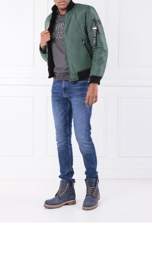 Guess Jeans Reversible bomber jacket | Regular Fit