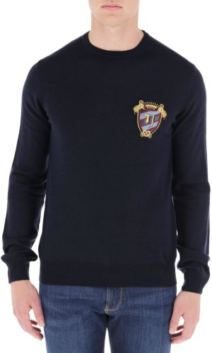 Trussardi Jeans Sweter | Regular Fit | z dodatkiem wełny