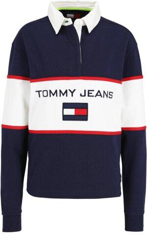 Tommy Jeans Bluza TJW 90s BLOCKED RUGB | Regular Fit