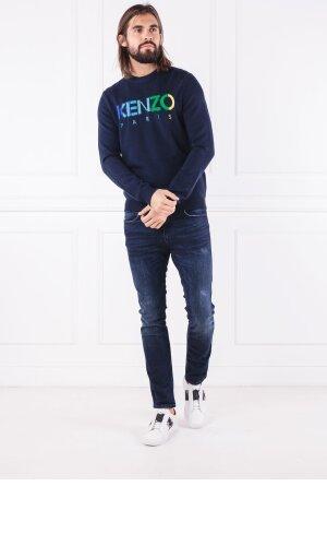 Kenzo Wełniany sweter   Regular Fit