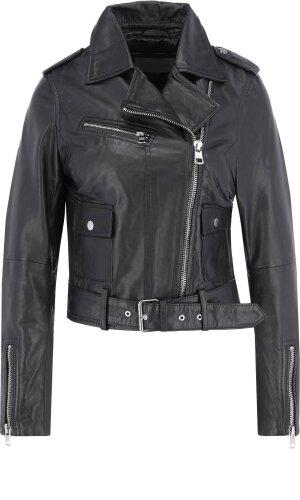 Calvin Klein Jeans Jacket MILANO LEATHER BIKER | Slim Fit