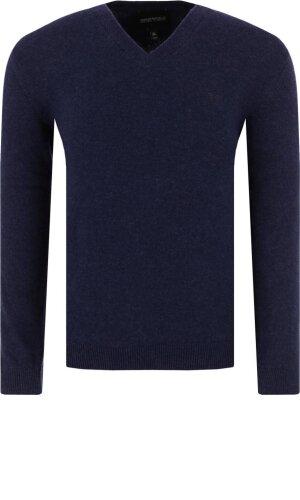 Emporio Armani Sweter | Regular Fit | z dodatkiem kaszmiru