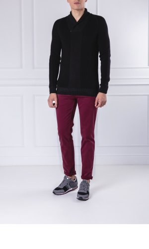 Boss Casual Wełniany sweter Afoirbos | Regular Fit