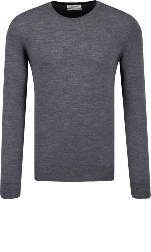 Calvin Klein Wełniany sweter SUPERIOR   Regular Fit