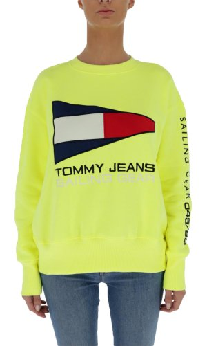 Tommy Jeans Bluza 90s SAILING LOGO | Loose fit