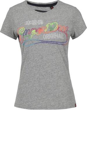 Superdry T-shirt STITCH SNOWY | Slim Fit