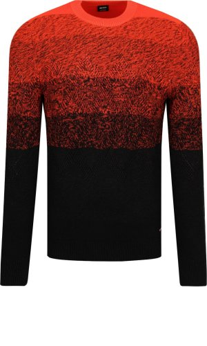 Boss Casual Sweter Kardumage | Regular Fit | z dodatkiem wełny