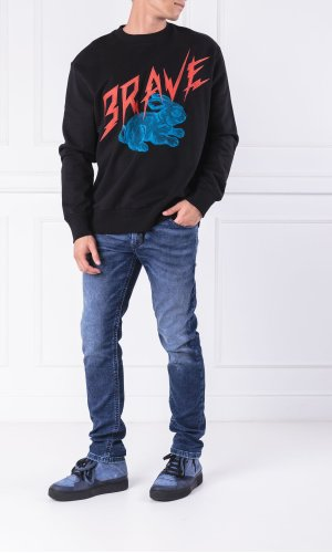 Diesel Bluza S-BAY-WB | Regular Fit
