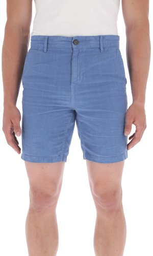 Boss Orange Lniane szorty Siman2-Shorts-D | Tapered