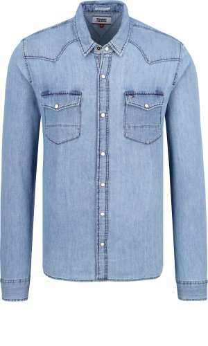 Tommy Jeans Koszula TJM ESSENTIAL | Regular Fit | denim