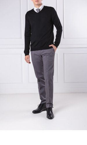 Joop! COLLECTION Wełniany sweter Damien | Regular Fit