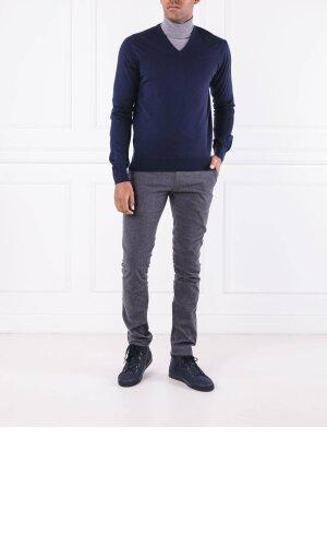 Hackett London Wełniany sweter merino | Regular Fit