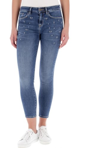 Tommy Hilfiger Jeansy COMO RW CROPPED | jegging fit | mid waist
