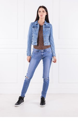 Guess Jeans Kurtka jeansowa SEXY TRUCKER | Regular Fit