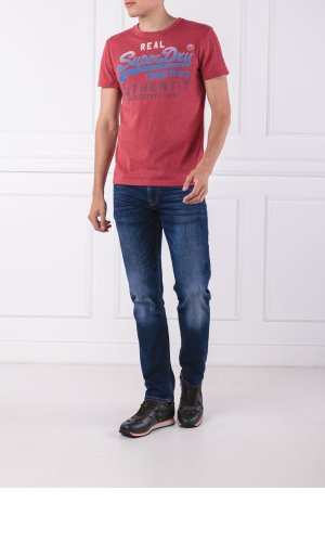 Superdry T-shirt VINTAGE AUTHENTIC FADE TEE | Slim Fit