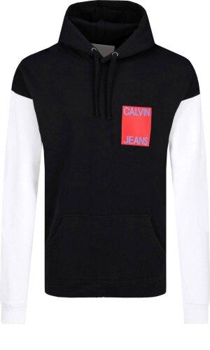 Calvin Klein Jeans Bluza COLOR BLOCK INSTITUT   Loose fit