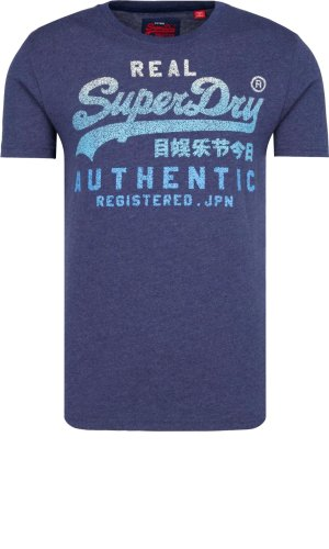 Superdry T-shirt VINTAGE LOGO ENTRY TEE | Slim Fit