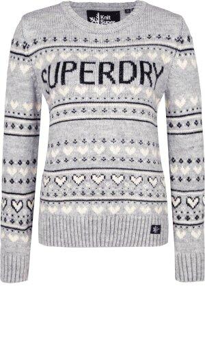 Superdry Sweter Cleveland Fairisle | Regular Fit