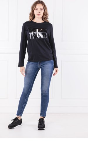 Calvin Klein Jeans Bluzka MONOGRAM BOX | Regular Fit