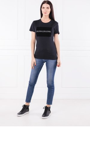 Calvin Klein Jeans T-shirt INSTITUTIONAL FLOCK | Regular Fit