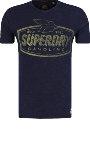 Superdry T-shirt WORN WELL INDIGO TEE | Regular Fit