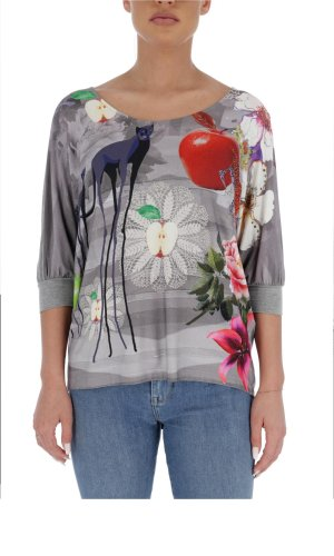 Desigual Blouse Prelude | Loose fit