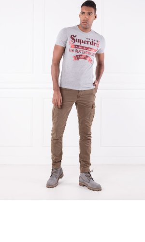 Superdry T-shirt TOKYO BRAND HERITAGE CLASSIC TEE | Slim Fit