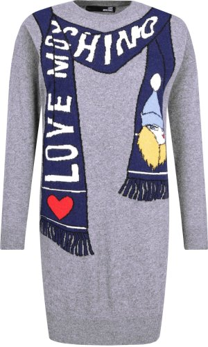 Love Moschino Dress | with addition of wool