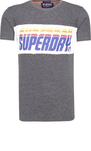 Superdry T-shirt TRIPLE DROP POP PANEL | Slim Fit