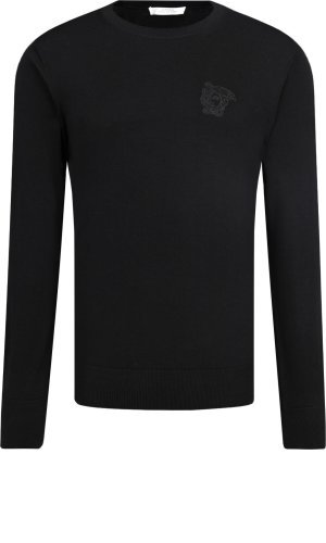 Versace Collection Wełniany sweter | Regular Fit