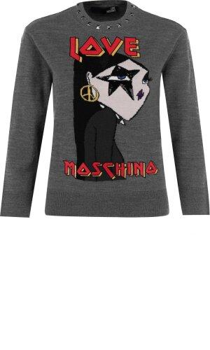 Love Moschino Sweter | Regular Fit